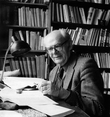 Profesor Jerzy Kłoczowski (1924-2017); fot. Katolicki Uniwersytet Lubelski