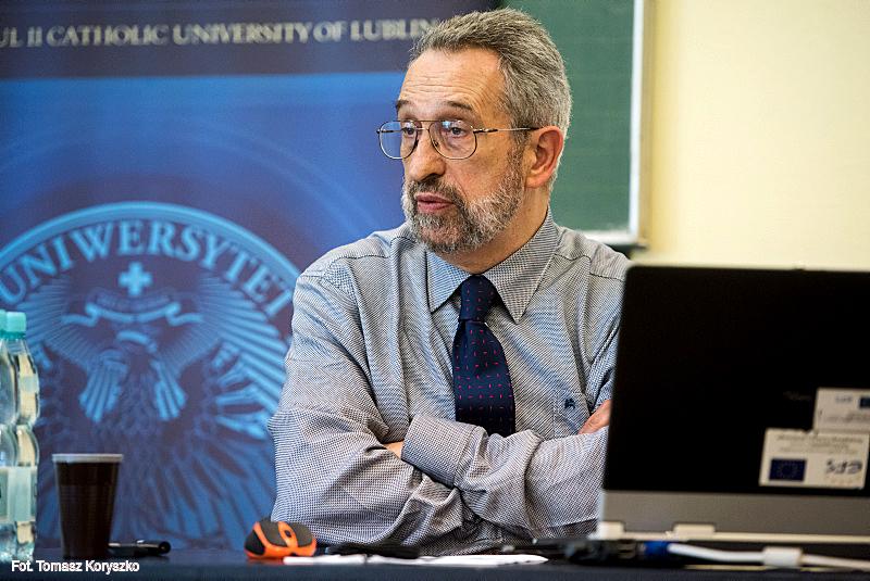 20.05.2015 - Debaty Dyplomatyczne KUL - spotkanie z Eugeniuszem Smolarem z Centrum Stosunków Międzynarodowych