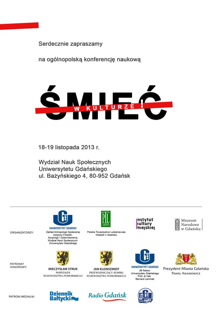 Kul Wydział Nauk Humanistycznych Zaproszenia I Informacje 2013