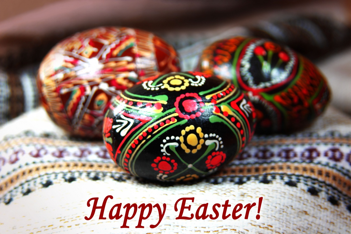Happy Easter Greetings.