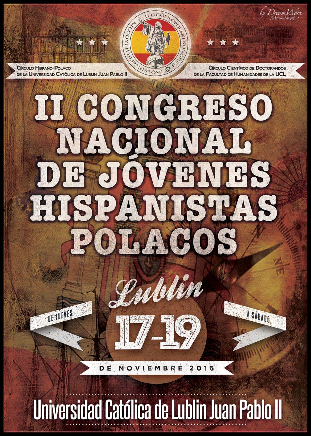 plakat II Kongres Hispanistów