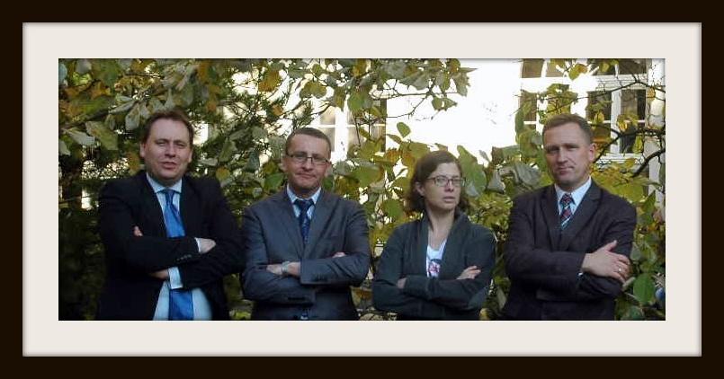 od lewej: S. Hypś, D. Szeleszczuk, M. Gałązka, K. Wiak