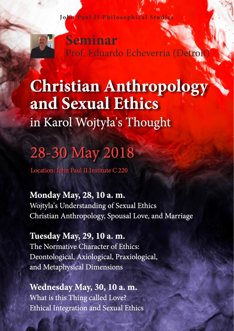 Christian Anthropology and Sexual Ethics in Karol Wojtyła's Thought