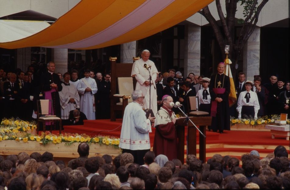 John Paul II's visit at KUL