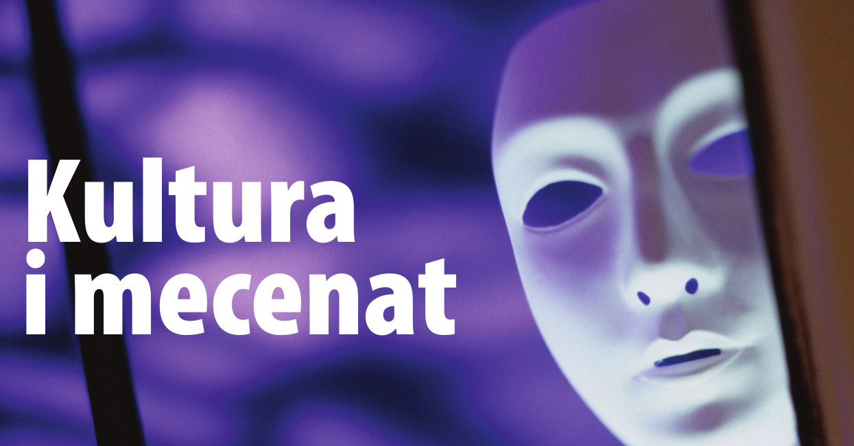 Plakat sympozjum Kultura i mecenat
