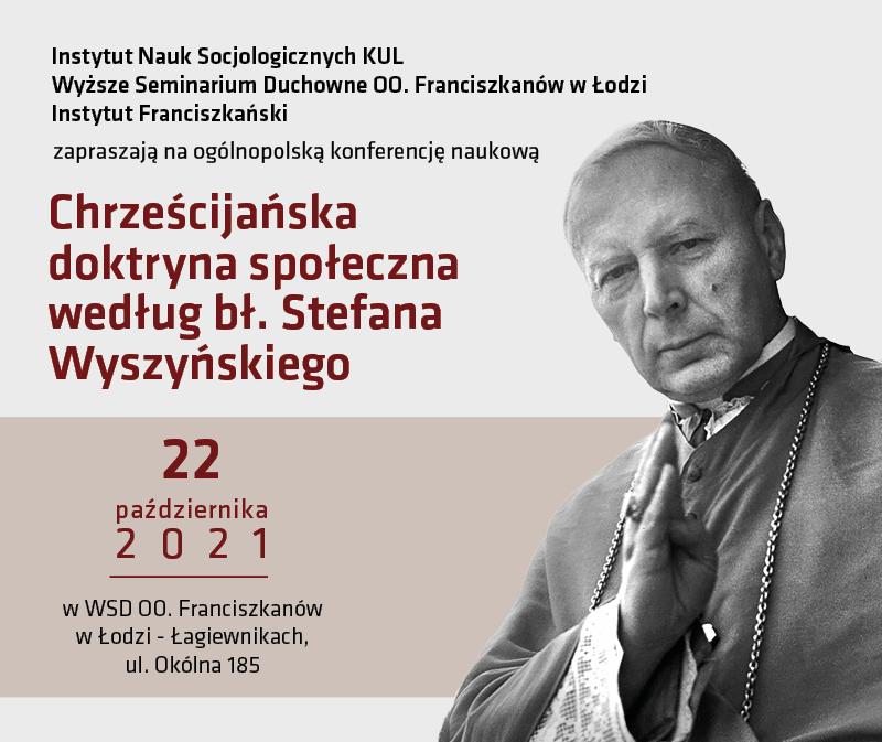 baner 800x673 konferencja chrzescijanska doktryna spoleczna wedlug bl. s. wyszynskiego.png