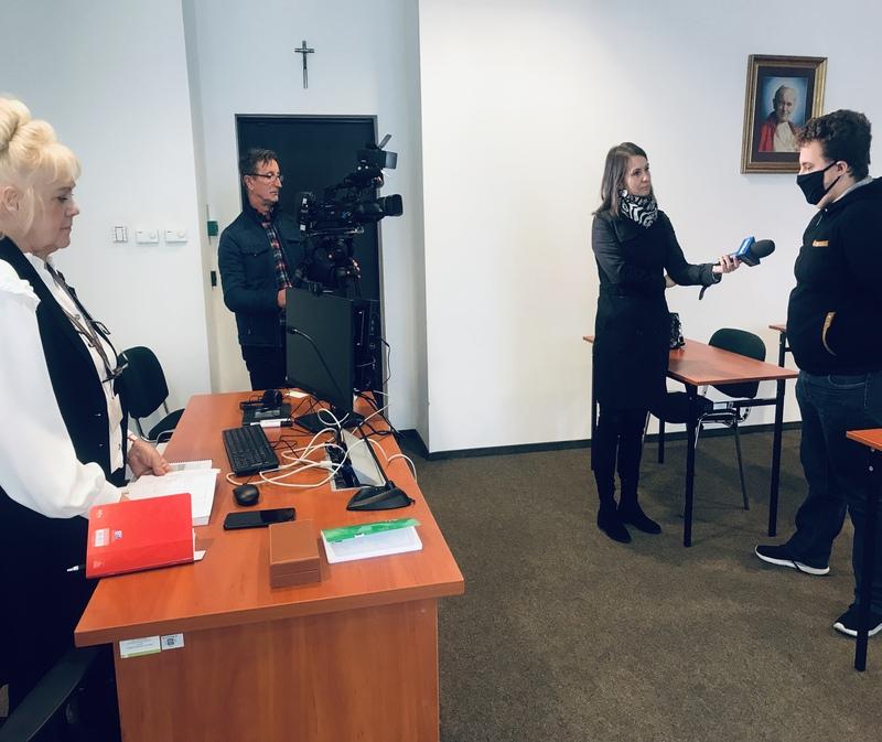 spotkanie z mediami stalowa wola 21.10.2021r.