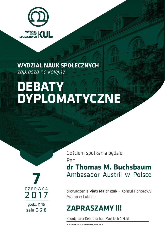 debaty dyplomatyczne
