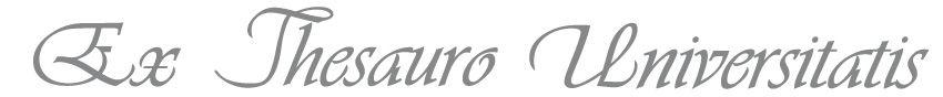 Ex Thesauro Universitatis