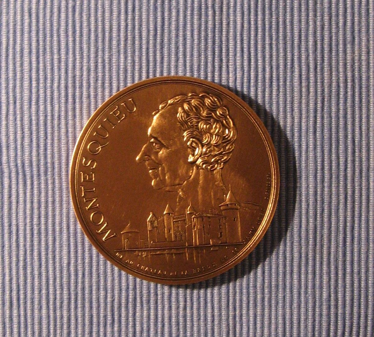 Medal merostwa La Brède